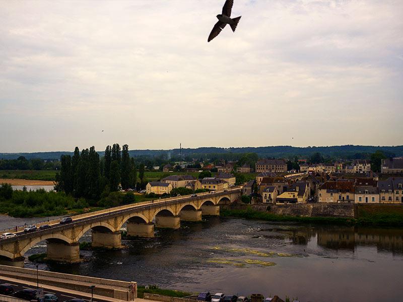 Puente de Amboise de nuestro viaje a los Castillos del Loira