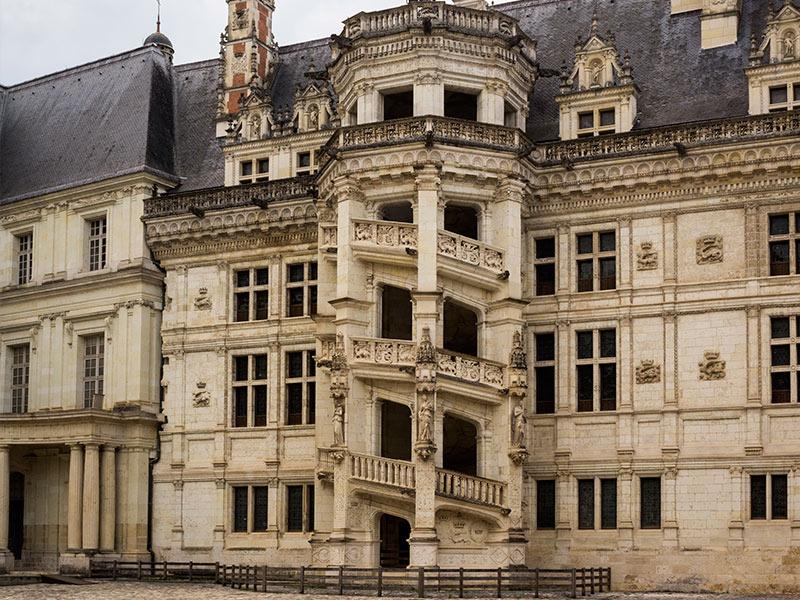 Castillo de Blois de nuestro viaje a los Castillos del Loira