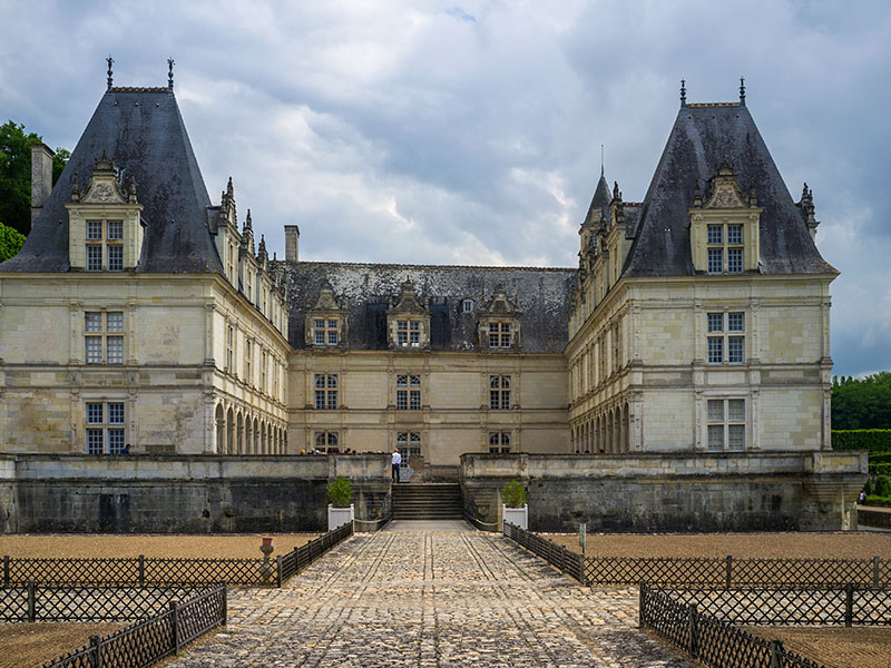 Castillo de Villandry de nuestro viaje a los Castillos del Loira
