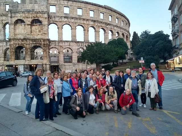 Pula, viaje a Venecia y la costa de Croacia