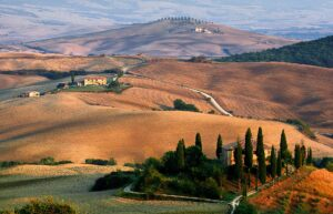 Paisaje, viaje a la Toscana
