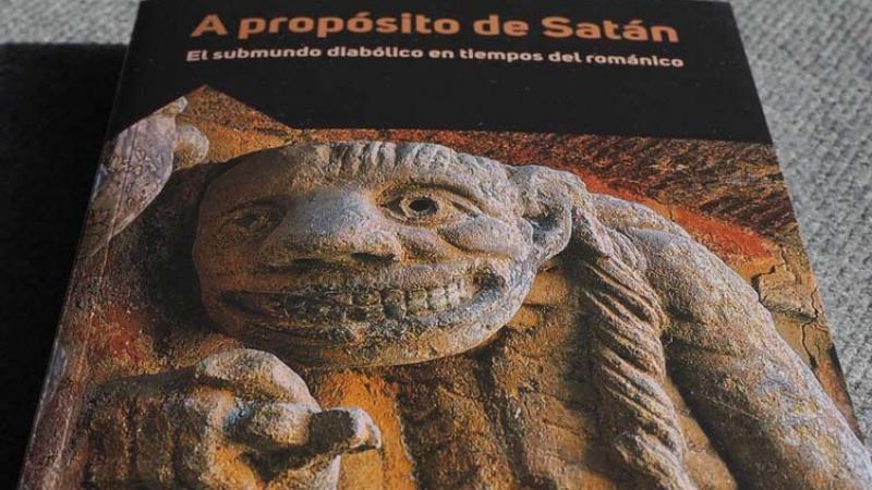 Portada de la publicación de la Fundación Santa María la Real sobre la figura de Satán