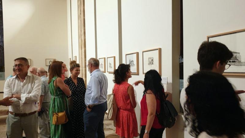 Inauguración de la exposición Esbozos de un viaje interior (FSMLR)