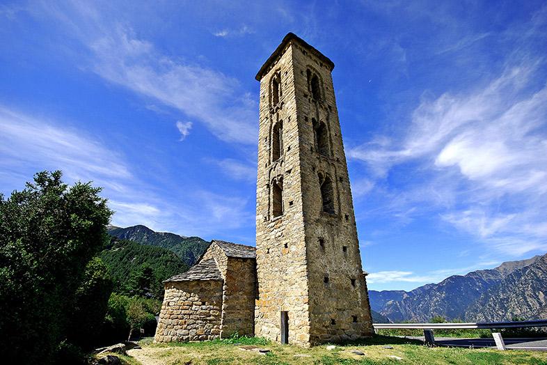 San Miguel de Engolsters. Andorra.