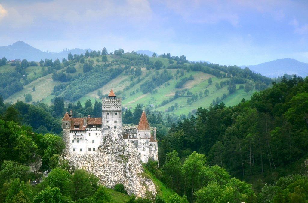 El castillo de Bran. La leyenda afirma que era el verdadero refugio del Conde Drácula